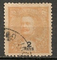 Timbres - Portugal - Inde Portugaise - 1903-1911 - 2 Reis - - Inde Portugaise