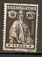 Timbres - Portugal - Inde Portugaise - 1914 - 2 Reis - - Inde Portugaise