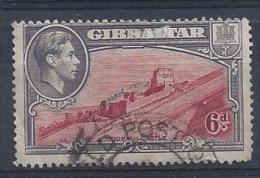 Gibralter 1938-44  KGVI  6d  (o)  Mi.112 B - Gibraltar