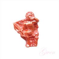 Feve Publicitaire Ange Rouge Monoprix - Characters