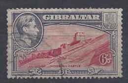 Gibralter 1938-44  KGVI  6d  (o)  Mi.112 D - Gibraltar