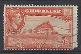 Gibralter 1947  KGVI  5d  (o)  Mi.122 - Gibraltar