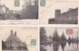 LOT  De  12  CPA  DE  VERNEUIL  ( 78 )   -  Toutes Scanées - Postcards