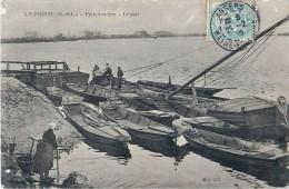 Cpa LA POINTE 49 Embarcadère - Le Port - France