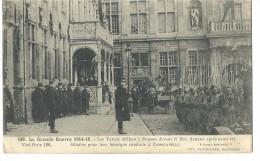 ! - Belgique - Guerre 1914-18 - Défilé De Soldats Turcos à Furnes Devant Le Roi Albert 1er - Oblitération Militaire - Evénements