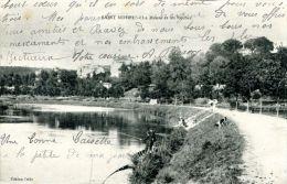 N°43015 -cpa Saint Mihiel -la Meuse Et Les Rochers- - Saint Mihiel