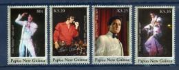 PAPOUASIE Papua New Guinea 2006 Elvis Presley Yv 1113/16 Mi 1208/11 MNH ** - Elvis Presley