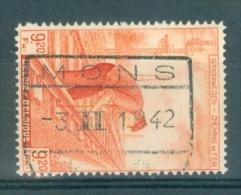"""BELGIE - OBP Nr TR 260 -  Cachet """"MONS"""" - (ref. VL-7799 ) - Chemins De Fer"""