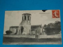 17 ) Sousmoulins - L'eglise  - Année 1911  - EDIT - Gautrat - France