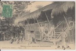 MAISON D'UN COLON EN COCHINCHINE - Vietnam