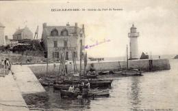 ENTRÉE DU PORT DE SAUZON - Belle Ile En Mer