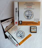JEU NINTENDO DS - Programme D'entrainement CEREBRAL AVANCE Du DR KAWASHIMA - Nintendo Game Boy