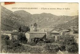 Carte Postale Ancienne Saint Guilhem Le Désert - L'Eglise Ou Ancienne Abbaye De Gellone - France