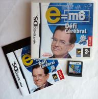 JEU NINTENDO DS - E = M6 DEFI CEREBRAL - Nintendo Game Boy