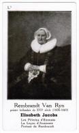 REMBRANDT VAN RYN PEINTRE HOLLANDAIS DU XVIIe SIECLE 1606-1669 ELISABETH JACOBS - Histoire