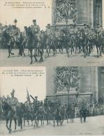 14 Juillet 1919. Fêtes De La Victoire. La Délégation Chinoise. La Délégation Japonaise. 2 Cartes - Sonstige