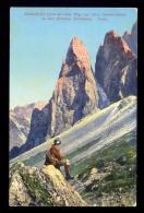 Einserkofel (2700 M) Vom Weg Zur Drei Zinnen-Hutte In Den Sextener Dolomiten Tirol / Postcard Not Circulated - Österreich