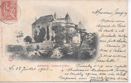 GOURDON - Château De Fénelon - Gourdon