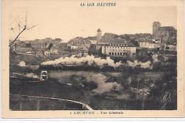 GOURDON - Vue Générale - TRAIN - Gourdon