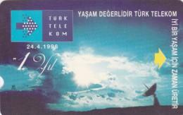 Turkey, R-087a, 60 Units, 1st Anniversary Of Turk Telekom, With SC Logo, 2 Scans.  Please Read - Turkey