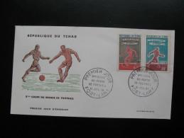 8ème COUPE DU MONDE DE FOOTBALL-12 JUILLET 1968 -FORT LAMY - Ciad (1960-...)