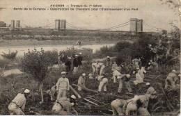 84 AVIGNON Pont Sur Le Rhone Par Le 7eme Génie  Constrction De Chevalets Pour L'établissement D'un Pont - Avignon