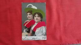 Embossed   Silk Added-- Tirolese Costumes -1858 - Europe