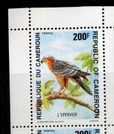 5 X Epervier  Cameroun 1992     Yv.  863 ** - Cameroun (1960-...)