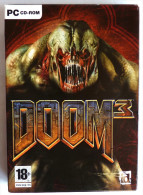 JEU PC  - DOOM 3 - 3 Cd-rom - PC-Games