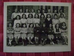 PHOTO - ECOLE - CLASSE EN 1946 - Photos