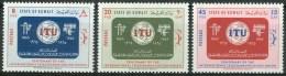 1965 Kuwait ITU Telecomunicazioni Telecommuncations Set MNH** B570 - Kuwait