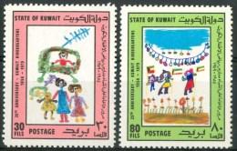 1979 Kuwait Infanzia Childhood Enfance Set MNH** B570 - Kuwait