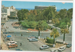 Liberty Square Heraclion (Candia) Crete - Stamp 1981    - Old Car Cars - Grèce