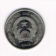 *** VIETNAM  200 DONG  2003 - Vietnam