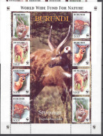 Burundi COB BL143 Sitatunga WWF 2004 MNH