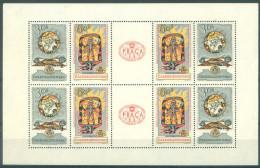 TCHECOSLOVAQUIE - MNH/** - 1962 - PRAGA 1962  - Mi Klb 1355-1356 - Yv BLOC 22  -  Lot 11946 - Blocks & Sheetlets