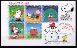 Gibraltar 2001 - Snoopy Père Noël, Noël 2001 - BF Neufs // Mnh - Gibraltar