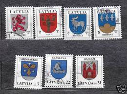 2006 LATVIA COAT OF ARMS  FULL YEAR SET 2006 USED STAMPS (O) - Latvia