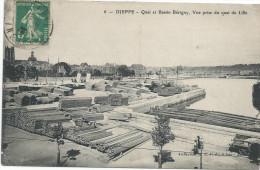 CPA0134, France.seine Martime, Dieppe, Quai Et Bassin Berigny, Vue Prise Du Quai De Lille - Dieppe
