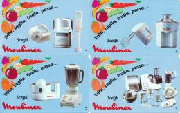 SERIE NUOVA (mint) Moulinex - Italie