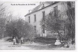 SAINT FIACRE - Façade Du Monastère - Francia
