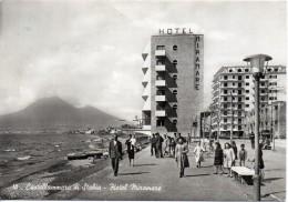 Campania-castellammare Di Stabia Veduta Hotel Miramare Animata Anni/50 - Castellammare Di Stabia
