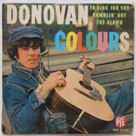 """DONOVAN  Vinyle 45 T """" Colours"""" - Rock"""
