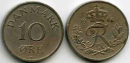 Danemark Denmark 10 Ore 1956 CS KM 841.2 - Danimarca