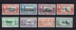 Falkland Islands  8 */mint Animal Stamps - Falkland Islands