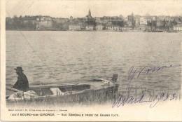 BOURG SUR GIRONDE - 33 -CPA DOS SIMPLE De 1903 D'une Vue Générale Prise Du Grand Ilot - GG -- - France