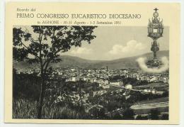 Agnone Viaggiata Primo Congresso Eucaristico F.g. - Isernia