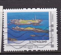 FRANCE COLLECTOR ÎLE VALAN ET ÎLE VIERGE Collector îles Bretonnes Oblitéré - France