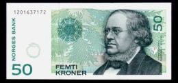Norway 50 Kroner 1998 AUNC - Noorwegen