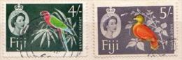 Fiji Used Stamps - Vögel